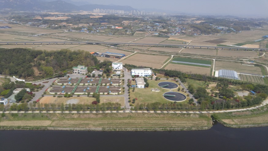 16일 (홍성군, 공공하수처리시설 운영관리 '전국 최우수'_홍성군 하수처리장 전경).jpg